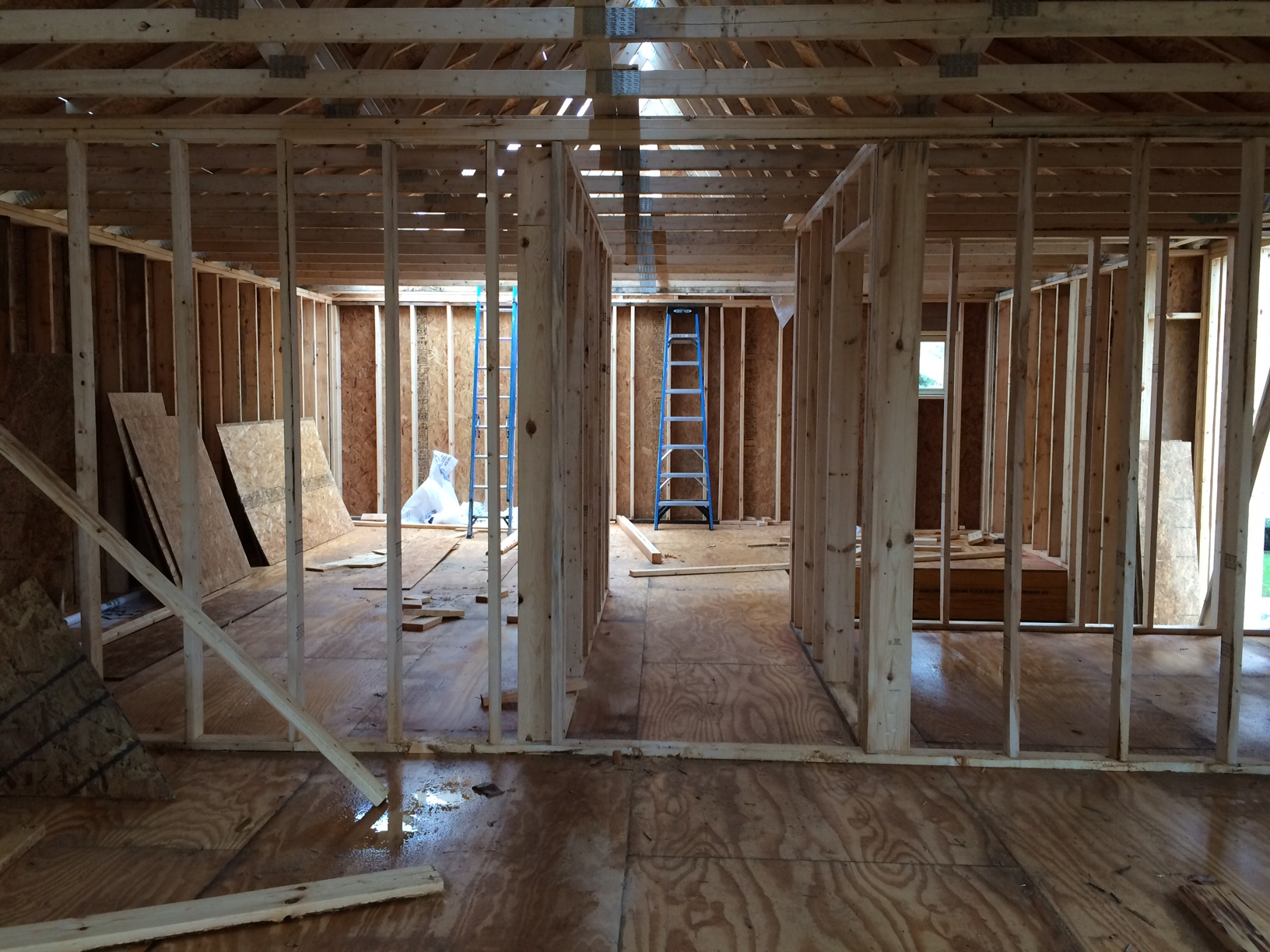 Framing and Walls for Safe House