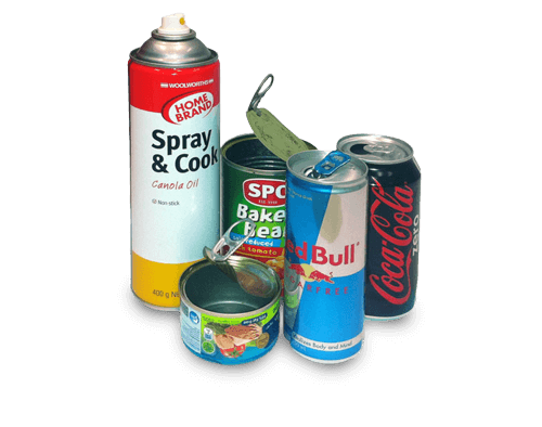 We Recycle your Cans