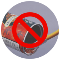 Remove food and liquids from all recyclables.